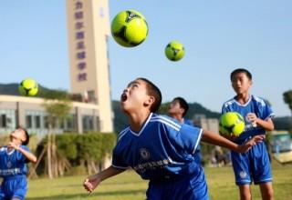 Adidas и правительство Китая займутся развитием детского футбола