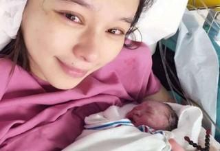 Тайваньская звезда Вивиан Хсу родила мальчика после 5 месяцев постельного режима