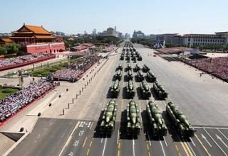 В Китае прошел парад в честь 70-летия окончания Второй мировой войны
