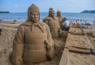 В провинции Чжэцзян пройдет фестиваль скульптур из песка