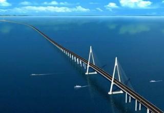 Китай соединит остров Хайнань с материком 26-километровым мостом