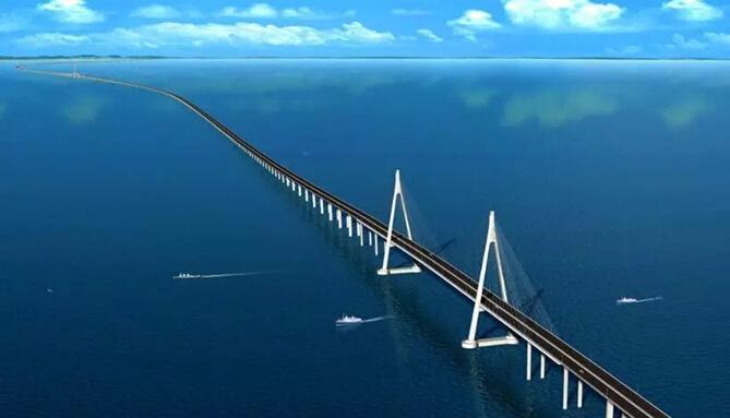 мост через пролив Цунчжоу