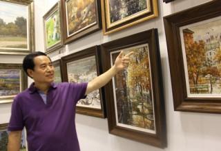 Китайский любитель живописи собрал коллекцию картин 500 русских художников