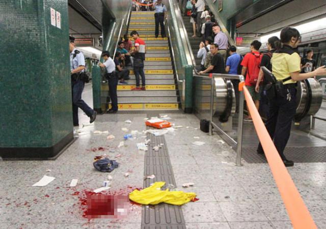 нападение в метро