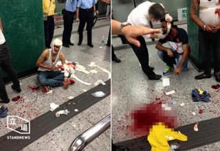 Вооруженное нападение в гонконгском метро вызвано конфликтом среди торговцев марихуаной