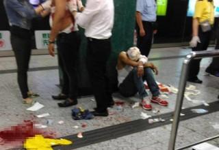 В метро Гонконга произошло вооруженное нападение на выходцев из Южной Азии