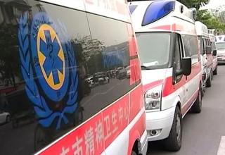 В Китае более 190 человек отравились дымом во время противопожарных учений