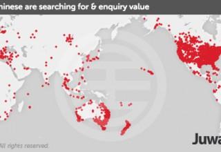 Карта: где китайцы планируют купить недвижимость