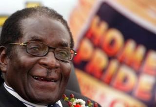 Африканский диктатор Мугабе получил китайскую премию мира