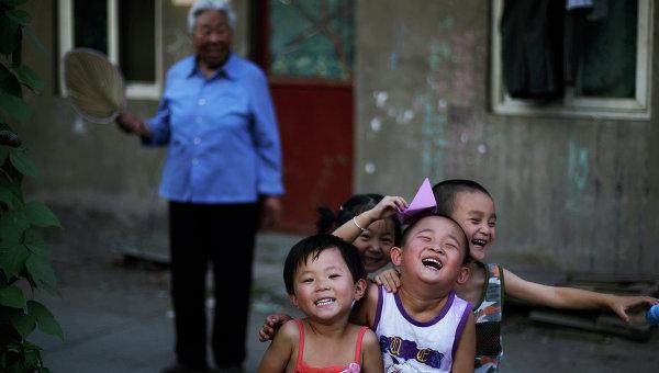 китайские дети, дети в китае
