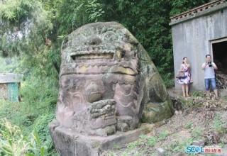 В провинции Сычуань найден самый большой каменный лев в КНР