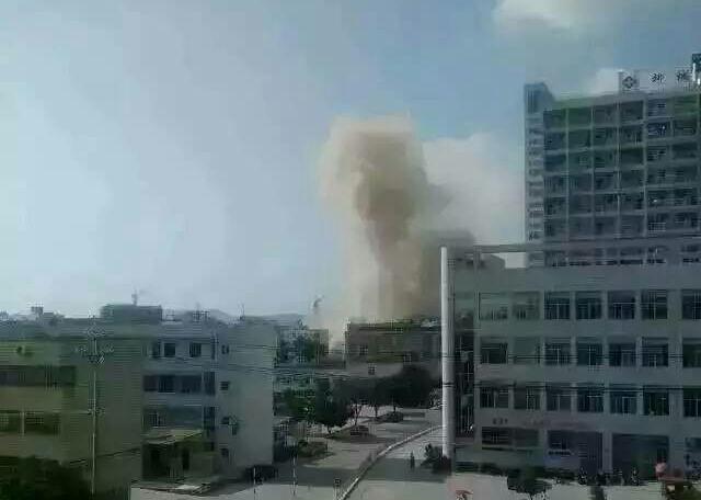взрывы в Лючжоу