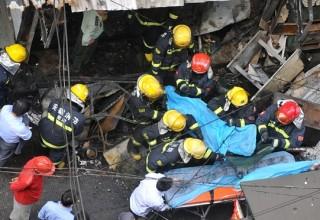 В результате взрыва на востоке Китая погибли 17 человек