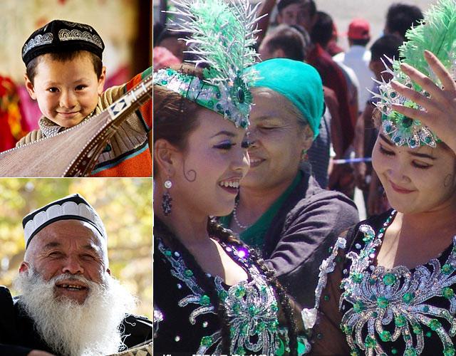 уйгуры, народы Синьцзяна
