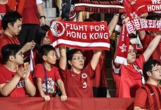 ФИФА оштрафовала федерацию футбола Гонконга за освистывание болельщиками государственного гимна