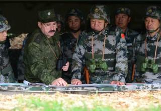 Российские военные прибыли в Китай для знакомства с деятельностью НОАК