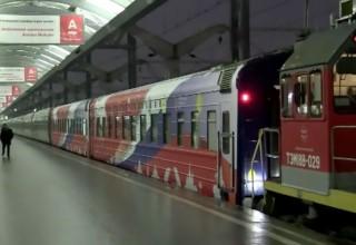 Из Петербурга в Пекин отправился российско-китайский «Поезд дружбы»