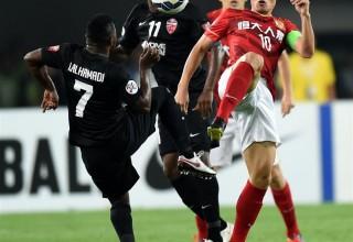 Китайский футбольный клуб «Гуанчжоу Эвергранд» выиграл азиатскую Лигу чемпионов