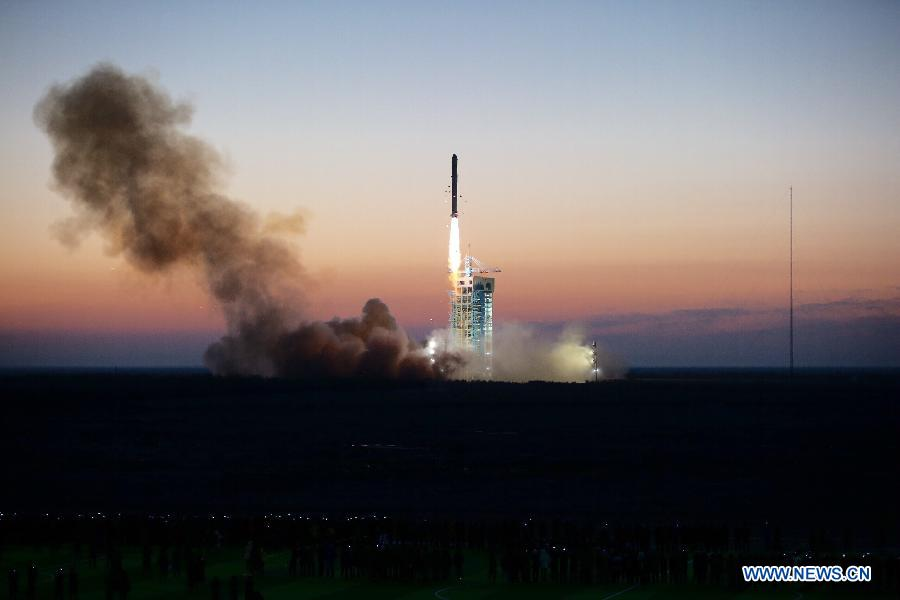 Запуск ракеты Китай