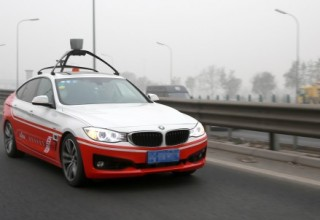 Китайский веб-гигант Baidu выпустит автомобиль без водителя в 2018 году