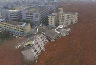 22 здания разрушены в Шэньчжэне из-за оползня
