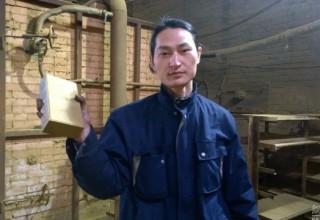 Китаец сделал кирпич из пекинского смога