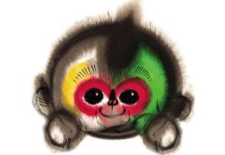 Встречайте обезьянку Канкан — новогодний талисман китайского телевидения