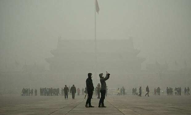 Смог Пекин