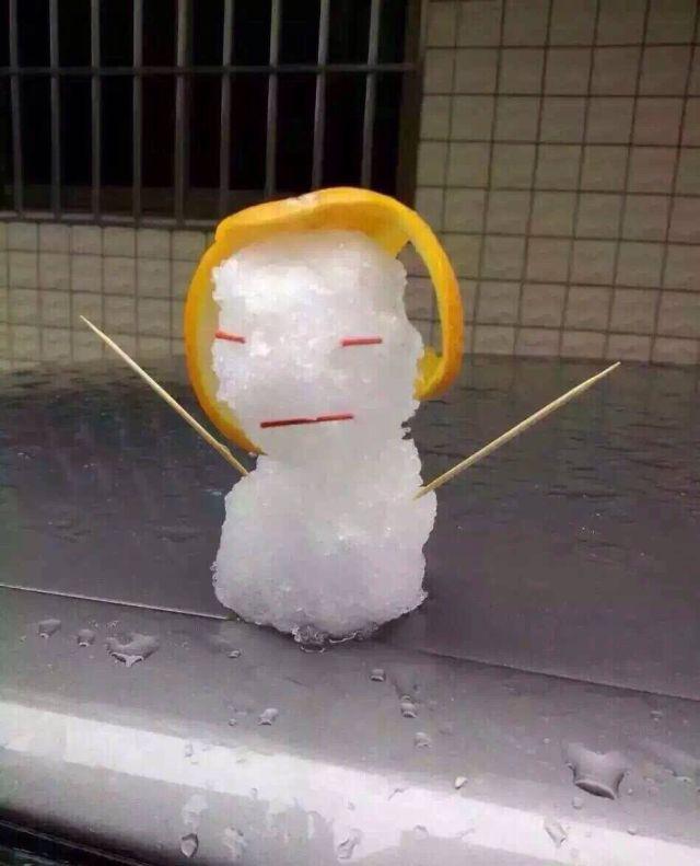 Снег в Гуанчжоу