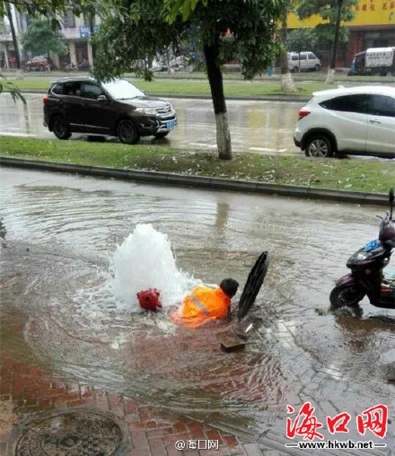 Фото: Weibo/海口网