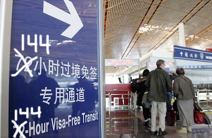 6-дневный безвизовый режим в Китае