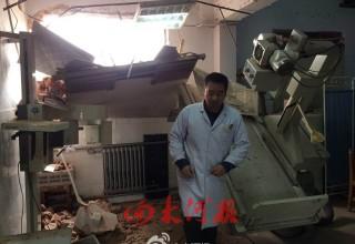В Китае под снос попала действующая больница