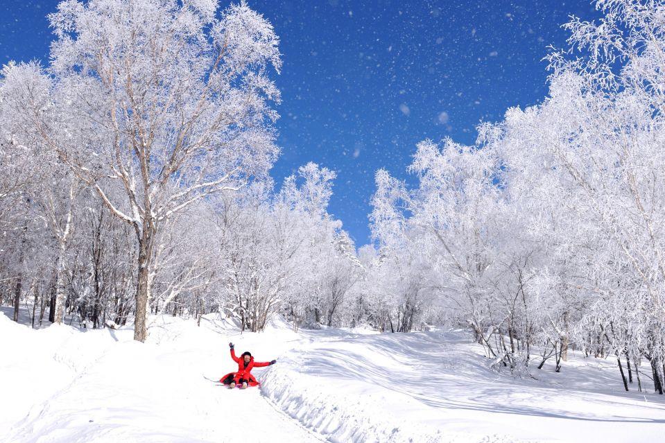 зима Китай