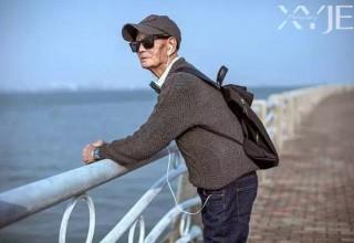 Китайский фотограф устроил своему 85-летнему деду фотосессию в стиле GQ