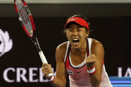 китайская теннисистка, китайский теннис, Чжан Шуай