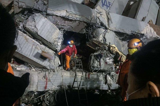 Тайнань землетрясение