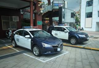 Тайваньская полиция позвонила в полицию после угона служебного автомобиля