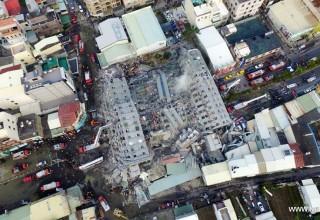 Жертвами землетрясения на Тайване стали 116 человек. Спасательная операция завершена