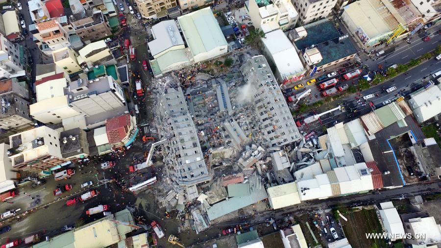 землетрясение Тайвань