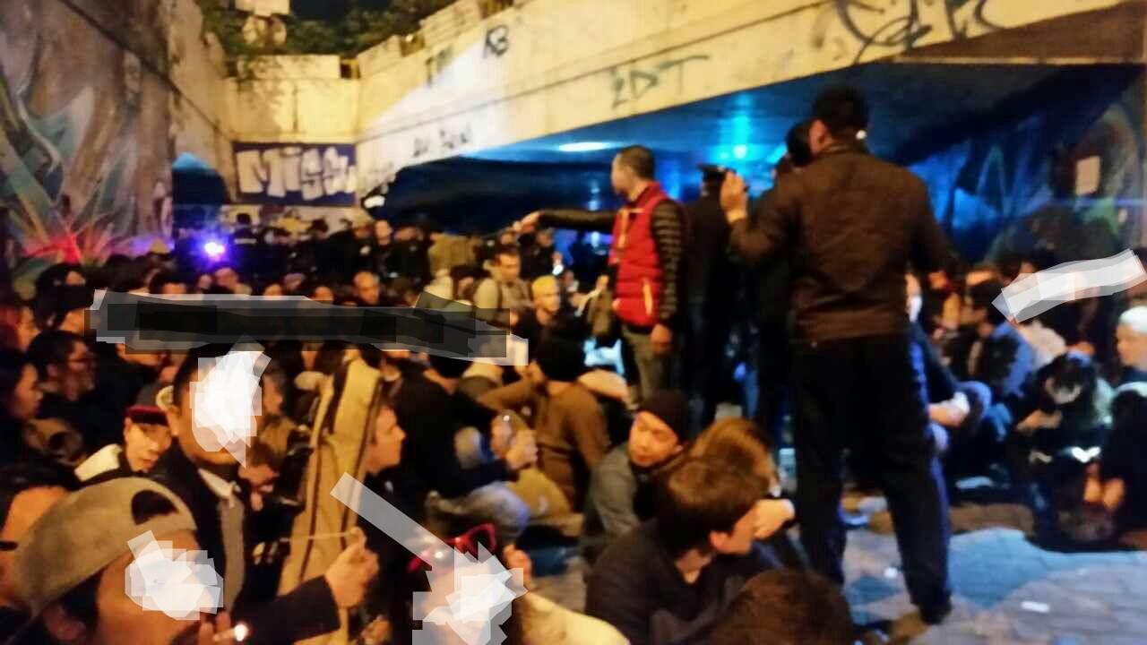Снимок очевидца событий. Фото: reddit.com