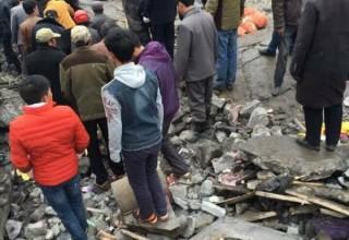 В Китае взорвалась подпольная пиротехническая фабрика