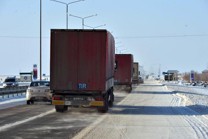 транзит через Казахстан