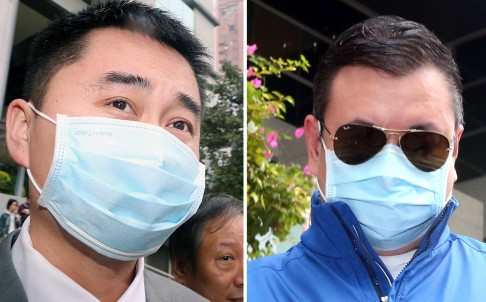 Подсудимые гиды Лю и Ву. Фото: David Wong/SCMP