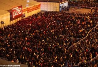 Миссия «Вернуться домой»: фото транспортного коллапса перед китайским Новым годом