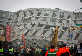 11 человек стали жертвами землетрясения на Тайване