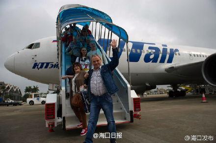 перелет на Хайнань