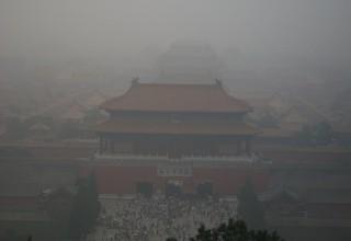 На этой неделе в 13 городах КНР зафиксировано сильное загрязнение воздуха