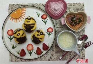 Креативная китаянка приготовила дочери 232 уникальных завтрака