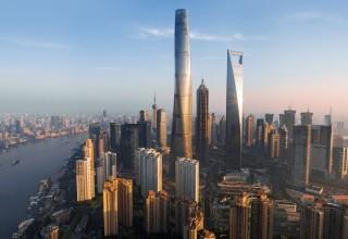 На самый высокий небоскреб Шанхая можно будет подняться за 55 секунд