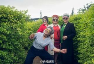 Фото модных китайских старушек восхитили интернет-пользователей